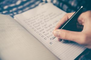 work remotely plan checklist