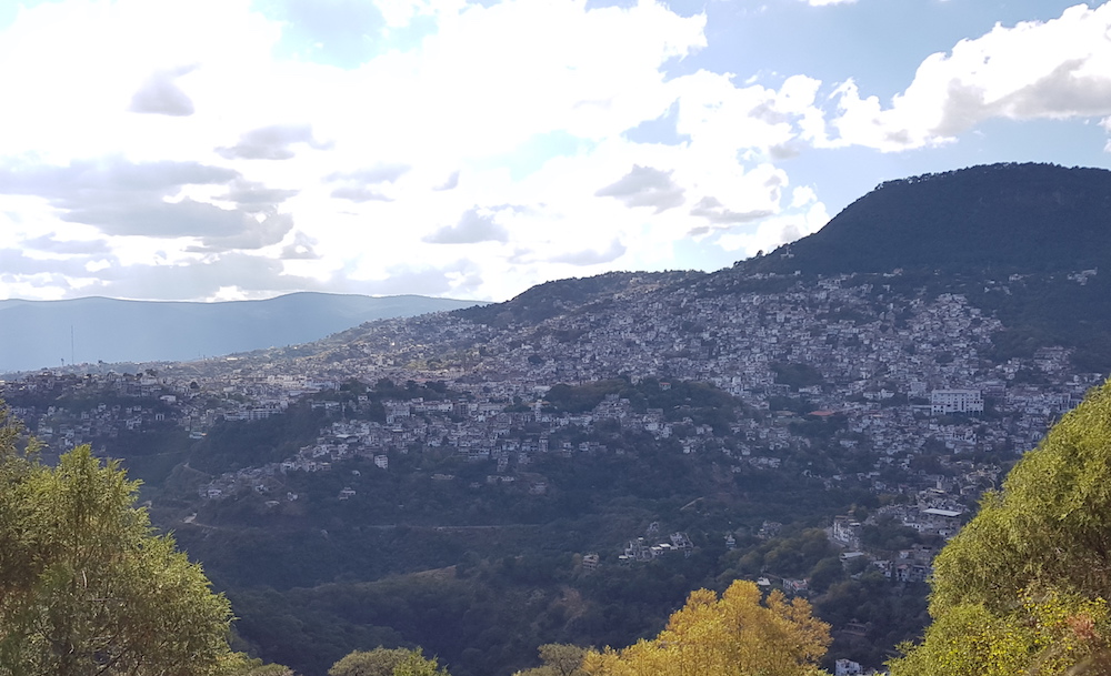 Aussicht auf Taxco